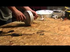 how to convert a traditional ceiling fan into a wind turbine relatively cheap.