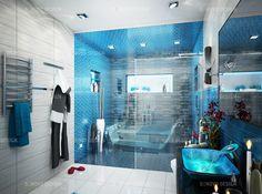 Bathroom Design Toronto Amusing Bathroom Vibrant Purple Colour For A Bathroom  A New Project From Decorating Inspiration