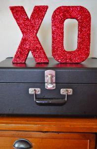 [DIY] Glitter letters Saint Valentin ! #wedding #mariage