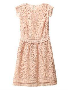 Collette by Collette Dinnigan Battenburg lace dress