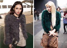 Fashion Womens Warm Genuine Turkey Feather Fur Coat Jacket 5 Color #Other #BasicJacket