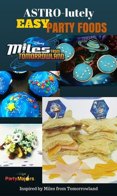 Miles From Tomorrowland EASY Party Foods : Cupcakes Cakes Cookies and more from PartyMajors