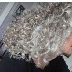Natural color and curls