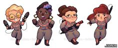 Chibi Ghostbusters