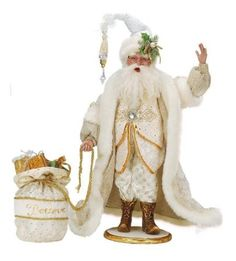 Mark Roberts Believe Christmas Santa Display Figure