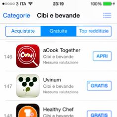 Se hai scaricato l'#app @acook_together da #appstore lascia un #voto ci aiuterai a farla conoscere a tutti gli #amanti della #buona #cucina e dello stare #insieme GRAZIE!! #instapic #instacook #instacool #rate #iphone #iphone5