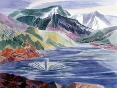 Ethel Magafan [1914-1994] - Silver Jack Reservoir
