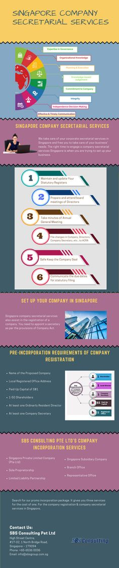 #Singapore #company #secretarial #services providers take care of many compliance-related tasks for you. They make your life easier and are worth hiring for affordable costs.  #businessservices #startups