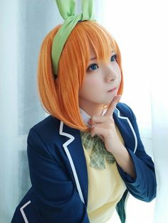 Read The Quintessential Quintuplets / no Hanayome full Manga chapters in English online! Asian Cosplay, Cute Cosplay, Best Cosplay, Cosplay Girls, Human Poses, Cute Japanese Girl, Anime Costumes, Kawaii Anime Girl, Ulzzang Girl