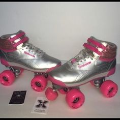 9df9d8a074615c I just discovered this while shopping on Poshmark  Custom Reebok Freestyle  Hi Sneaker Rollerskates.