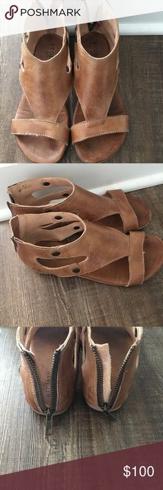 Bed Stu sandals size 6 Worn maybe three times. Purchased at Buckle this summer. Bed Stu Shoes Sandals