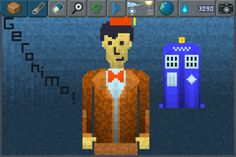 Allons-y Alonso! The eleventh doctor ready to save earth once again!