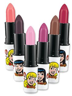 MAC Archie comics lipstick.  I collect Archie items.  I already have the light pink Betty Lipstick.