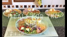 MEALS FOR THE WEEK NO.6 | UK FAMILY OF 7
