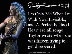 Swift Facts!  Whoa! All on her 1st album's deluxe edition!
