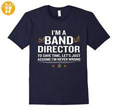Band Direktor Witziges Zitat Geschenk T-Shirt Herren, Größe XL Navy - Shirts mit spruch (*Partner-Link)