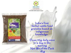Herbal cattlefeed supplement with 3 in 1 benefits by Manish Singh via slideshare