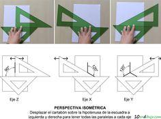 Reglas Isometrica y CAD