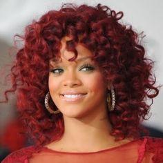 Ruiva Diva: 50 tons de cabelo de Rihanna / Cores para negras e morenas