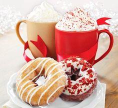 Imagen de donuts, food, and christmas