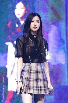 BlackPink Smut, WYR and reactions Stage Outfits, Kpop Outfits, Blackpink Fashion, Korean Fashion, Fashion Black, Moda Kpop, Rose Park, Kim Jisoo, K Pop