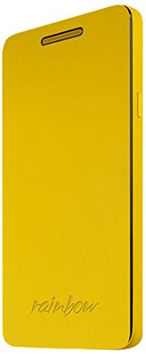 awesome Wiko 92261 - Funda para móvil Wiko Rainbow, amarillo