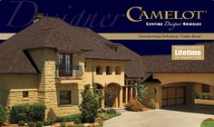 Gaf Camelot Roofing Shingles Steel Materials Metal Roof