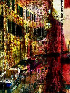 'The mask behind venetian windows' von Gabi Hampe bei artflakes.com als Poster oder Kunstdruck $18.03