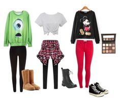 """""""Untitled #1"""" by ashley-chavez on Polyvore featuring River Island, Pieces, Converse, UGG Australia and Sigma Beauty"""