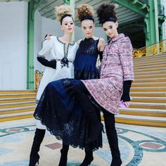 CHANEL Couture F/W 2016  @backstageat  More on @voguemagazine: http://bkstge.at/CoutureFW16