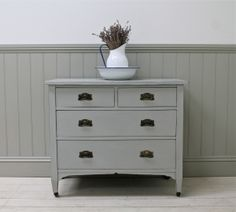 Vintage Painted Chest Of Drawers - For Sale | Distressed But Not Forsaken