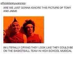 They would make such an amazing High School Musical movie