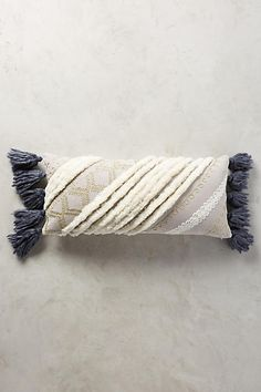 Tasseled Zonda Pillow - anthropologie.com