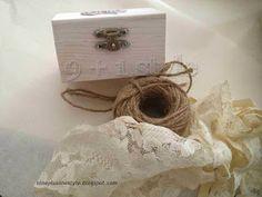 Scrigni porta anelli - A casket for our rings
