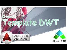 AutoCAD 2014 - Criando Template (*.dwt) - YouTube