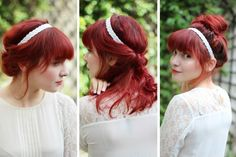 = Swann and the Berries = Fashion, design and photography: 1 Headband / 3 HairStyles