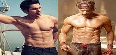 Shah Rukh Khan and Varun Dhawan Shirtless in one Frame
