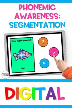 How many sounds? Segmentation is an important phonemic awareness skill that students practice as they are beginning to decode words to read. Here are 30 DIGITAL task cards focusing on segmentation.