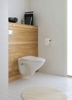 Seinäasennus helpottaa wc:n siivousta.