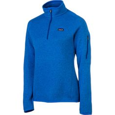 Patagonia Better Sweater 1/4-Zip Fleece Jacket - Women's blue or light blue
