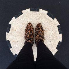 Leopard Low boots by Tabitha Simmons - Site de lebazarchocolatchaud !