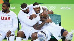 Carmelo Anthony at peace as Team USA's elder statesman