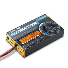 Charsoon Antimatter 250W 10A Balance Charger Discharger For LiPo/NiCd/PB Battery https://www.fpvbunker.com/product/charsoon-antimatter-250w-10a-balance-charger-discharger-for-liponicdpb-battery/    #drones
