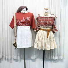 เสื้อผ้าสไตล์เกาหลี คุมโทนสีแดง Ulzzang Fashion, Kpop Fashion Outfits, Korean Fashion, Fashion Dresses, Casual Outfits, Cute Outfits, Womens Fashion, Kawaii Clothes, Wardrobes