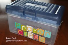 The Purposeful Mom: Character Cards to Use When Praying With Your Kids in a Prayer Box Family Bible Study, Prayer For Family, Bible Study For Kids, Kids Prayer, Scripture Study, Prayer List, Prayer Box, Prayer Cards, Simple Prayers