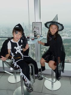 Children's Halloween dress up costumes at the Mori Tower, Tokyo