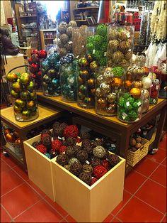 Christmas Spheres not Christmas Balls at Pier 1 Imports