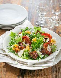 Salad Recipes, Healthy Recipes, Spring Salad, My Cookbook, Fodmap Recipes, Cobb Salad, Good Food, Food And Drink, Koti