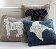 Coastal Animal Decorative Sham, Zebra