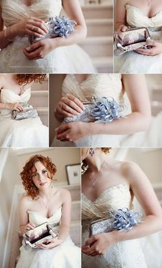 Personalize your ANGEE W Bridal Clutch Bag with a Photo by ANGEEW, $22.00